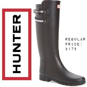 👌🏻NWT HUNTER Original Refined Matte Black Boot 9